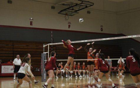 Varsity Girls' Volleyball vs. Meadowbrook