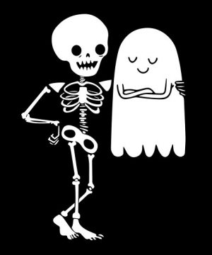 Which is Scarier: Ghosts or Skeletons?