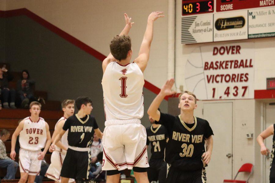 Dover Boys Basketball Dominate River View