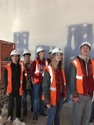 Students Get a Glimpse of the New DHS