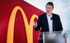 McDonald's CEO Stepdown