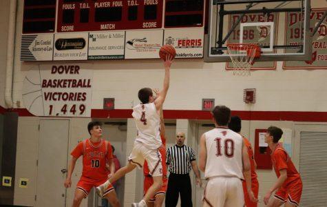 Senior Night for Boys Basketball