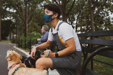 Wearing Masks Outside?